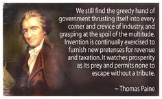 Thomas Paine Quote INFOWARS.COM BECAUSE THERE'S A WAR ON FOR YOUR MIND ...