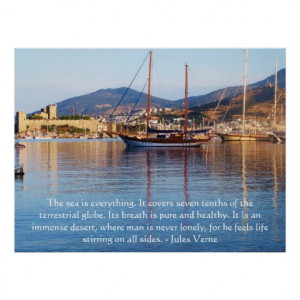 jules_verne_quote_about_the_ocean_poster ...