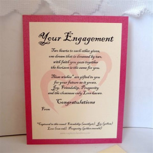 Captured Wishes make the best ideas for engagement gifts for the happy ...