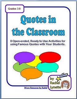 Eight Free Famous Quotes Worksheets! I'm using this!! Perfect ...