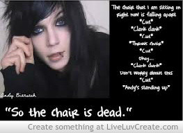 Funny Andy Biersack Quotes