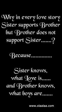 funniest brother love quotes, funny brother love quotes