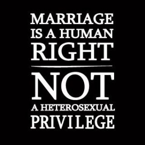 MARRIAGE EQUALITY?