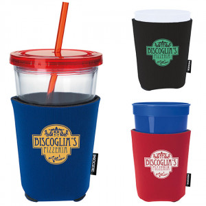 ... & Mugs > Custom Can Coolers > Life's a Party KOOZIE® Cup Kooler