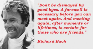 Richard Bach Quotes Famous Richard Bach Quotations Thoughts Images