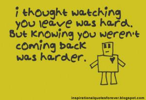 Sad Good bye quote