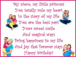 Happy Birthday Wishes, Poems, and Quotes for a Niece