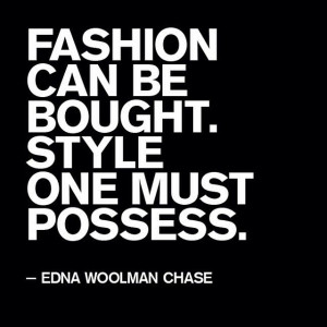 Style Quotes Inspiration