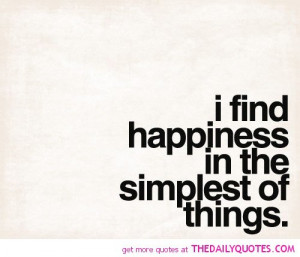 Finding Happiness Quotes and Sayings About Life