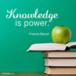 Quote: Knowledge is Power by rabidbribri
