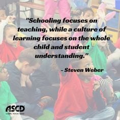 ASCD EDge community member Steven Weber explains why educators should ...