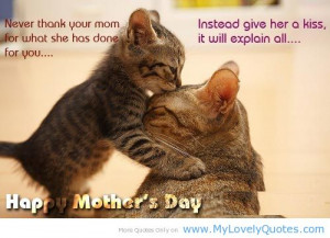 Funny Mom Quotes Kiss Pictures