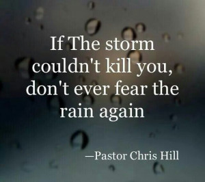QUOTE by Pastor Chris Hill