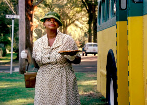 Minny from The Help with her special chocolate pie