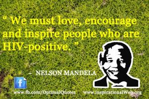 Nelson Mandela Quotes on HIV
