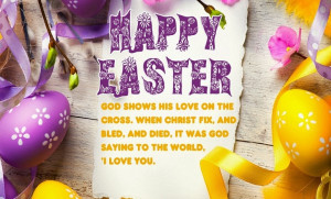 ... From The Bible : Top Quotes Messages SMS to Send on Easter Sunday