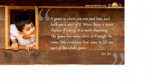 Quotes by Sri Sri on Overcoming Problems in Life