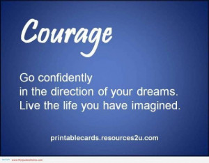 Love and courage quotes