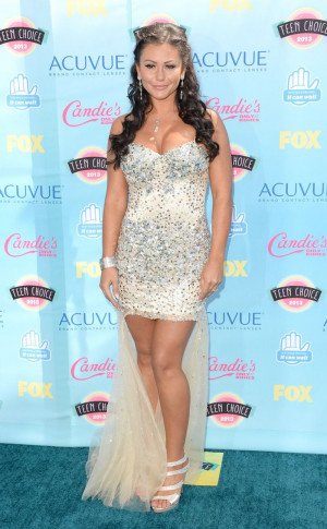 Jenni Farley At 2013 Teen Choice Awards