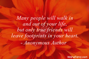 Quotes About Friends Leaving Footprints ~ Best Friends Forever Quotes