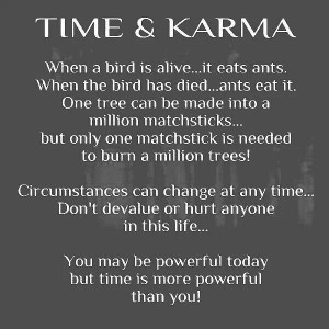 Time and karma