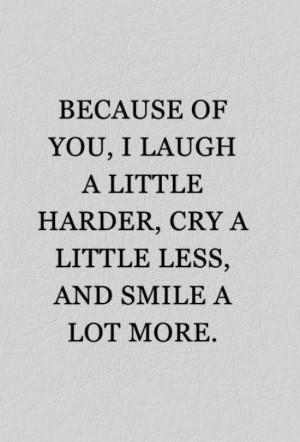 you make me laugh best friend quote