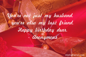 birthday love quotes for your husband