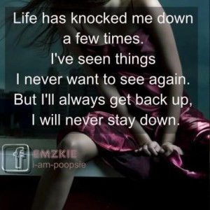 Life Has Knocked Down Few