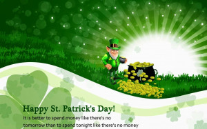 St Patrick's Day 2014 Greeting Card Sayings & Wishes Messages
