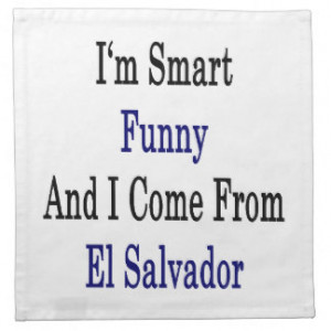 Funny Salvadoran Gifts and Gift Ideas