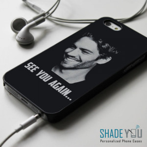 Paul Walker see you again quotes - iPhone 4/4S, iPhone 5/5S/5C, iPhone ...
