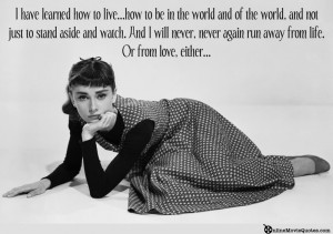 Sabrina Audrey Hepburn Movie Quote