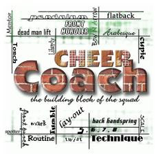 Cheer Coach Posters