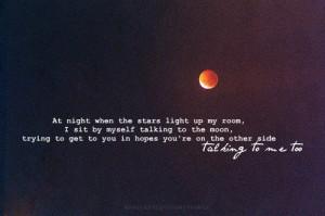 Talking to the Moon- Bruno Marscredits: weheartit;parawhoregleekxx234