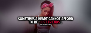 Just Friends, Quote, Quotes, Break Up, Heart Break, Covers