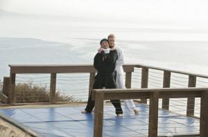 Behind The Scenes: Emily VanCamp, Hiroyuki Sanada - Emily Thorne ...