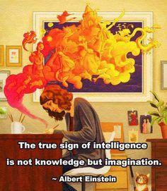 true sign of intelligence