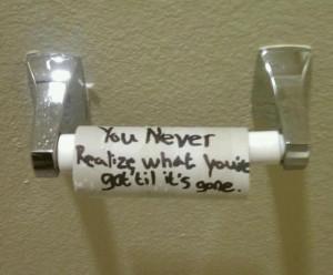 Life Like Toilet Paper...