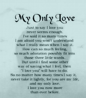 Poetry Love poetry!