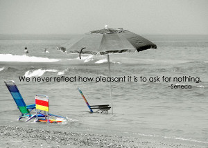 On Vacation Quote Photograph