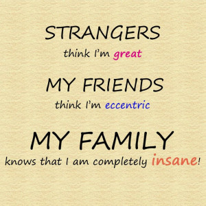 Family quotes - inspirational and funny