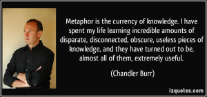 Inspiring Metaphor Quotes