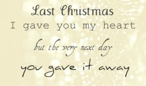 christmas, heart, quote, sad