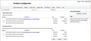 eQuote Generation Screencap: Quote & Product Configurator