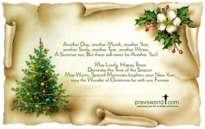 May the spirit of Christmas bring you peace. The gladness of Christmas ...