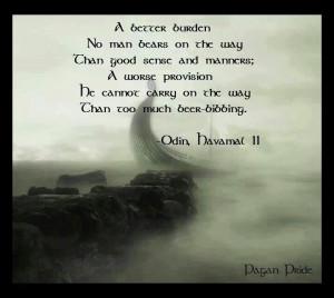 Odin's wisdom