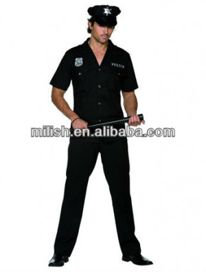 Party Funny cop Costumes for Halloween Carnival MAB-0773