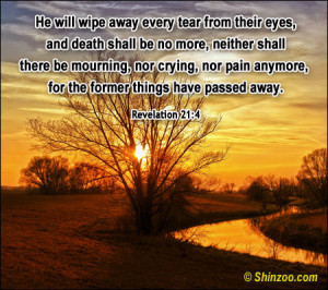 Bible Pictures and Quotes About Death