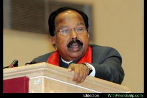 Veerappa Moily INC Chikkaballapur Karnataka