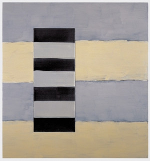 Light Dark 1998 Oil on linen 60 x 56 in (152.4 x 142.2 cm) Sean Scully ...